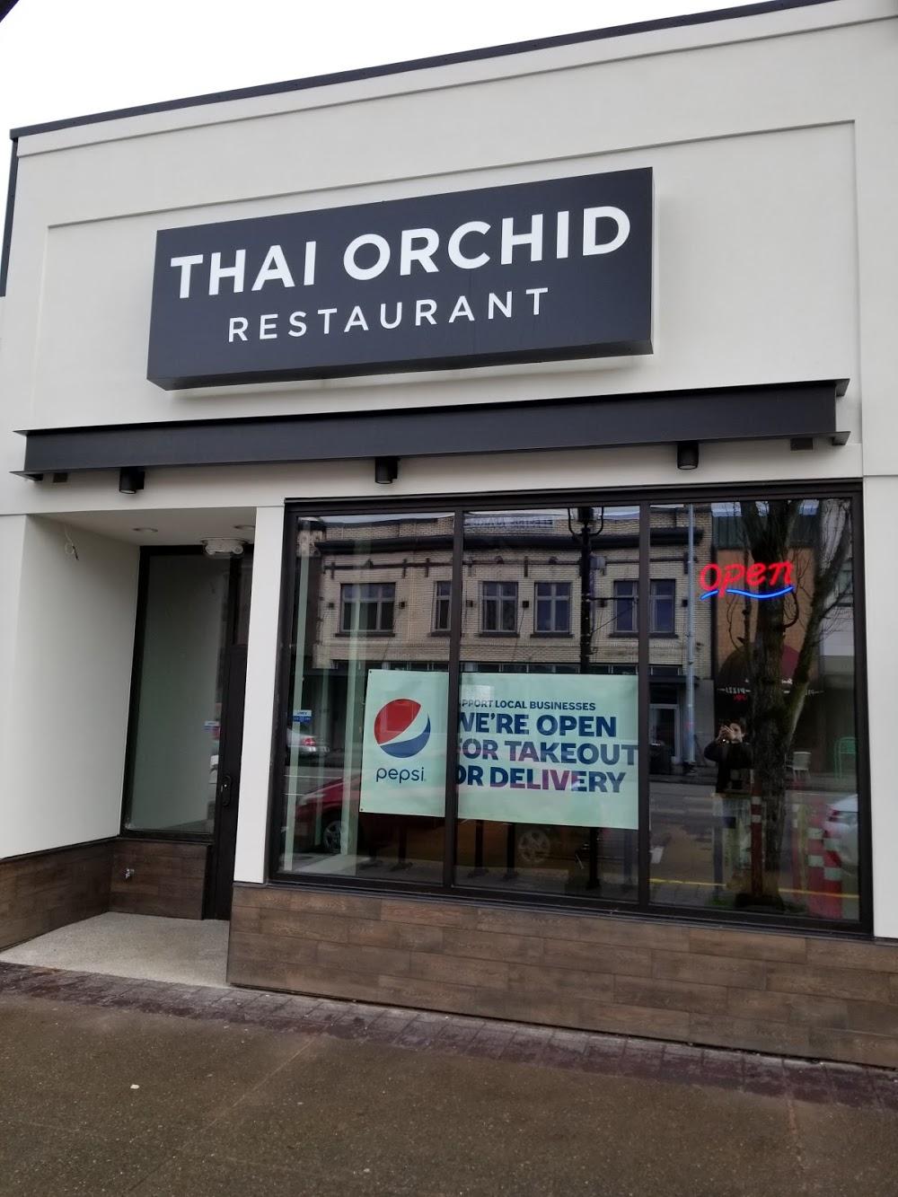 Thai Orchid Restaurant ————-
